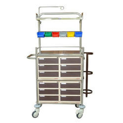 Crash Cart With ABS Drawers