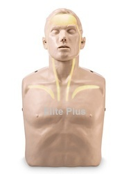CPR Training Manikin with White Indicator Lights