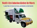 Induction Kitchen On Wheels