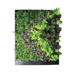Green Flower Wall Installation Service