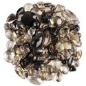 Natural Faceted Smokey Quartz in Brilliant Cut Gemstones in Assortment for Jewelry Making