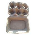 White Disposal Egg Tray