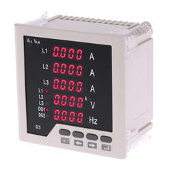 3 PH Digital AC Volt Meter and Amp Meter