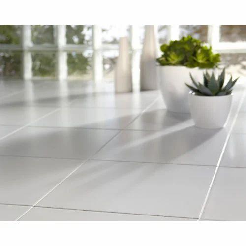White Quartz Floor Tile 10 15 Mm