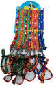 Pgpet Printed Leash Collar 1.5 Cm, For Home Purpose