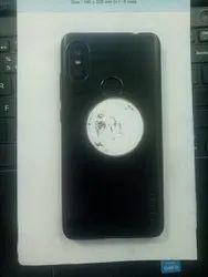 Plastic Black Matte Finish Mobile Covers