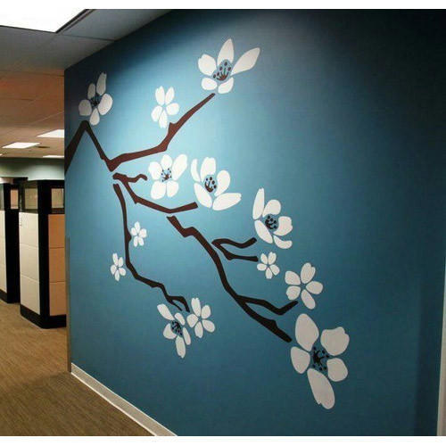 Interior Wall Painting Tree Wall Painting Manufacturer From Surat