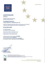 ISO 3834-4:2005 Accredited Certification Service