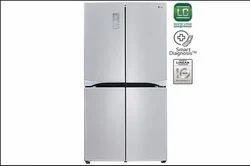 LG GR-B24FWSHL French Door Refrigerator, 725 Litre