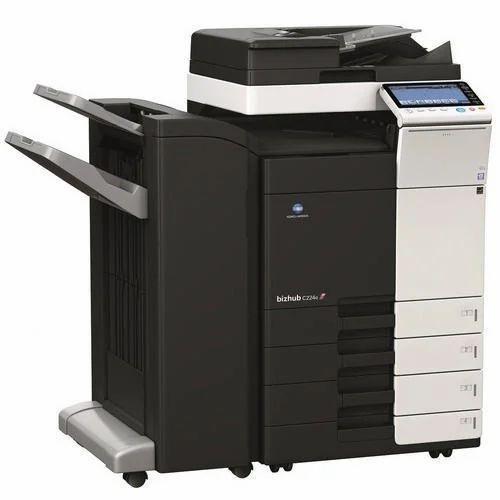 Konica Minolta Bizhub C224E Color Printer Fax Linux