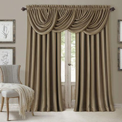 Merveilleux Beige Satin Fancy Door Curtain, Usage: Door