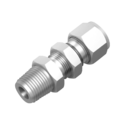 Ke Stainless Steel Bulkhead Male Connector