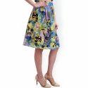Ladies Multicoloured Skirts