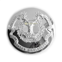 Silver Plated Badge