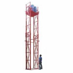 15 feet Material Handling Elevators, Capacity: 1-2 ton