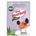 Imc Memory Enhancer Aloe Mind Bold Tablet, Grade Standard: Medicine Grade, Packaging Type: Box