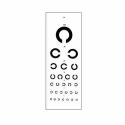 ASF C Distance Vision Chart