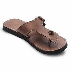 Brown Mens Eva Fancy Slippers