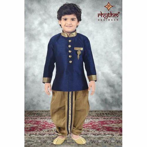 2bfa22750758 Printed Kids Dhoti Kurta, Rs 595 /set, Rhythm Creation | ID: 16200751755