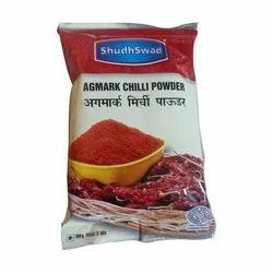 ShudhSwad Red Chilli Powder, Packaging Size: 200 g, Packaging Type: Packets