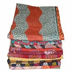 Multi Kantha Quilt