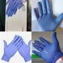 Nitrile Powder Free Examination Gloves, Finger Textured, 2.2 mil (3.0g)