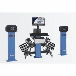 DT Vision Based 3D Wheel Aligner