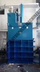 Vertical Type Cardboard Baling Machine