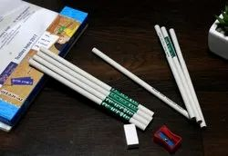 White Rewrite Advertising Pencils, Features: Extra Dark Ecofriendly Pencil, For For Writing & Advertising