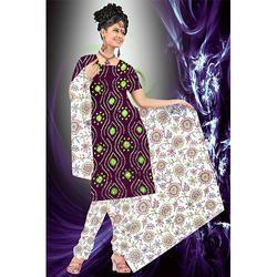 Maroon Designer Bandhani Print Suit