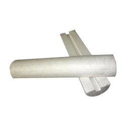 White Thermocol Pipe Section