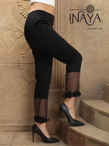 Cotton Inaya Cigarette Pants