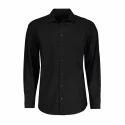 Mens Black Plain Shirt