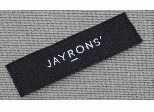 Black Hard Paper Custom Clothing Tags