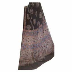 Ajrakh Block Print Cotton Dress Material