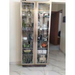 Glass Crockery Unit