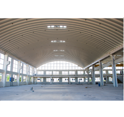 Steel / Stainless Steel Warehouse Roof