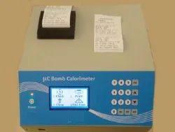 Automatic Microprocesser Based Bomb Calorimeter