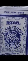 Glass cleaning powder