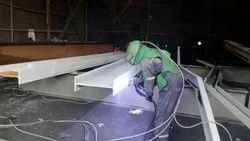 Thermal Spray Zinc Coating on Structure