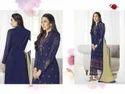 Collar Neck Blue Preet Salwar Suit