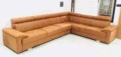 Beige Color, L- Shape Sofa