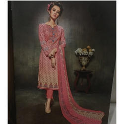 Cotton Party Wear Ladies Pant Suit Rs 1000 Piece Paras Fabrics Id 16786811791