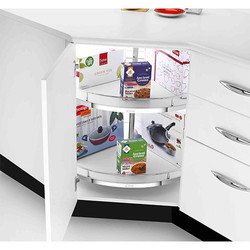 Royale Cabinet Full Round Carousel Tray With Support