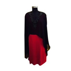 Ladies V Neck Woolen Kurti