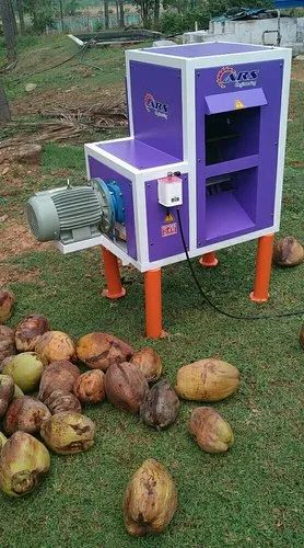 Coconut Dehusking Machine