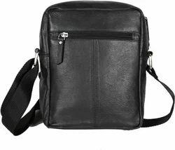b359e7644284 Hawai Black Leather Sling Bag