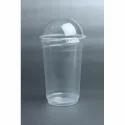 450ml Transparent Plastic Shake Glass