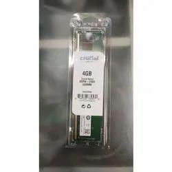 4 GB Crucial 4GB DDR4 2400 UDIMM Ram For Desktop