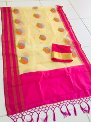 Party Wear Soft Silk Saree